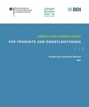 Umweltinformationen für Produkte und Dienstleistungen