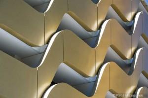 Detailansicht Stahlwellen