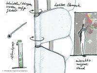 Skizze Drehschindeln mit Beschriftung