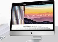 Webauftritt Duraflon® auf einem Bildschirm