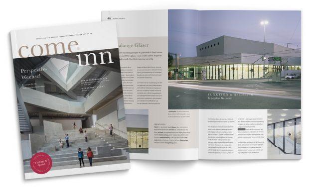 Voransicht der Broschüre come inn: Tageslichtarchitektur mit Glas