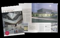 Bildvorschau come inn Magazin zur Tageslichtarchitektur mit Glas