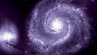 Ansicht Spiralgalaxie